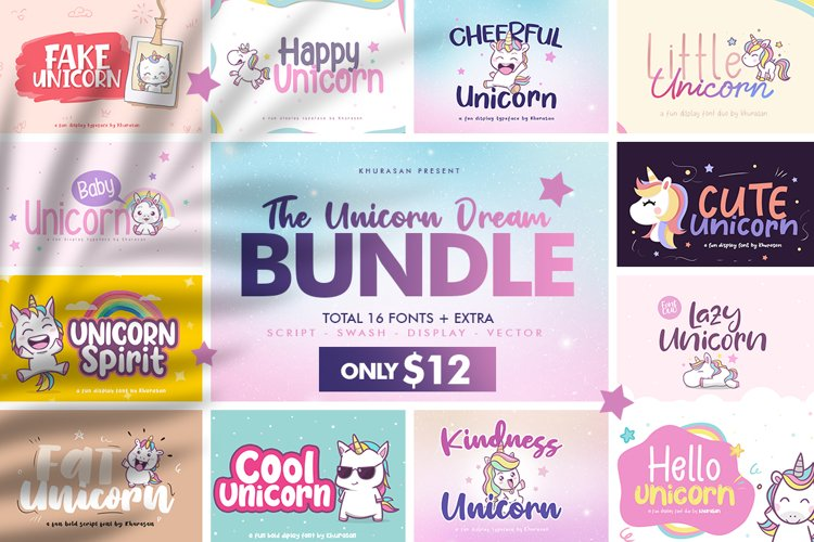 The Unicorn Dream Bundle example image 1