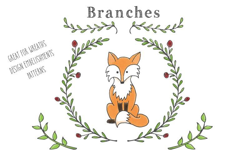 Woodland Animal Clipart Set - Free Design of The Week Design2