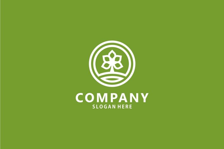 Farm / agriculture nature logo