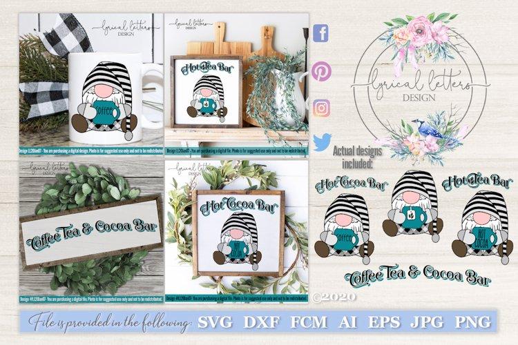 Gnome SVG Bundle Coffee Tea and Cocoa Gnome LL20Jan07