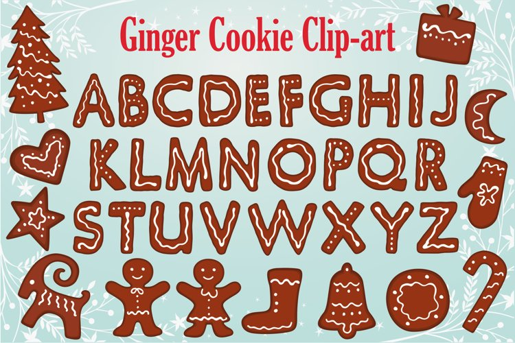 Gingerbread Clipart Collection