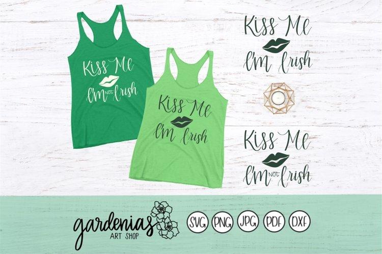Kiss Me I'm Irish / Kiss Me I'm Not Irish example image 1