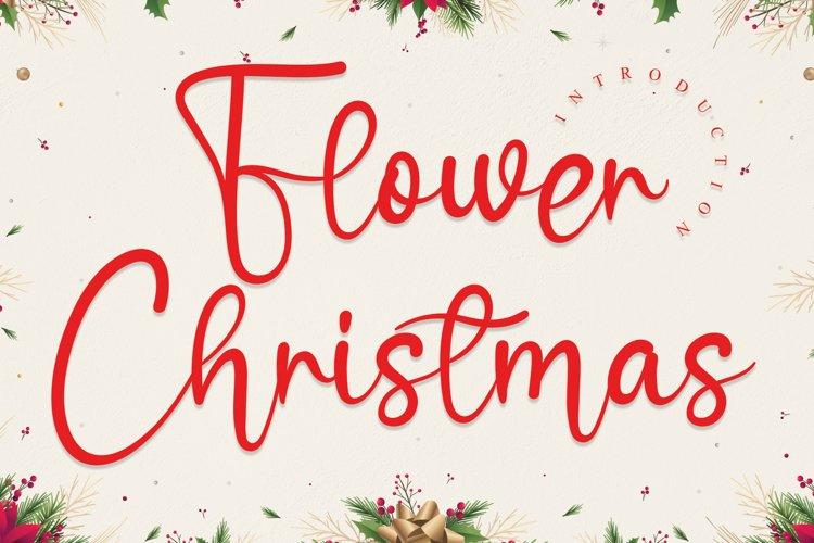 Flower Christmas example image 1