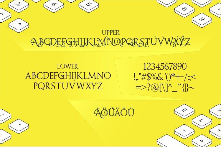 Fipty Serif Font Family example 16