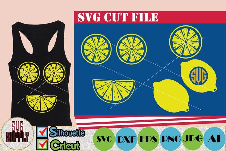 Lemon SVG Cut File example image 1