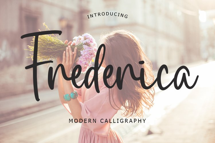 Frederica Script Font example image 1
