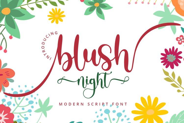 Blush Night example image 1