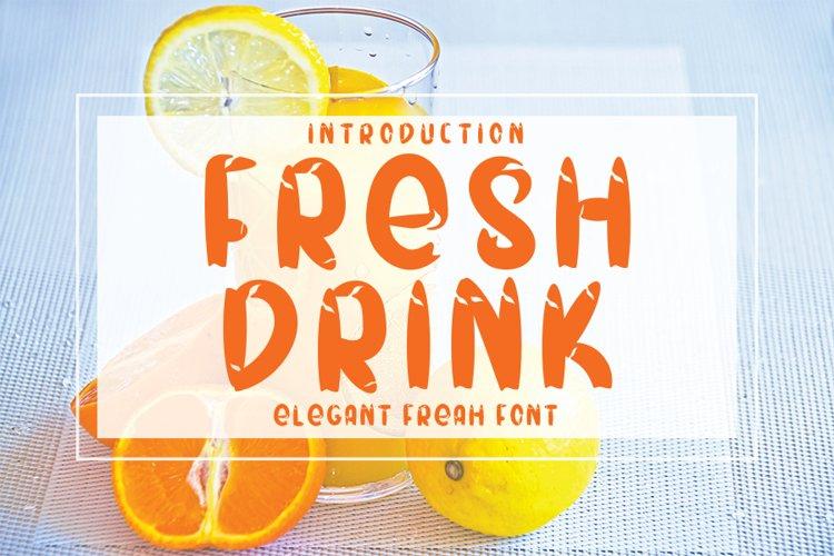 Fresh Drink example image 1