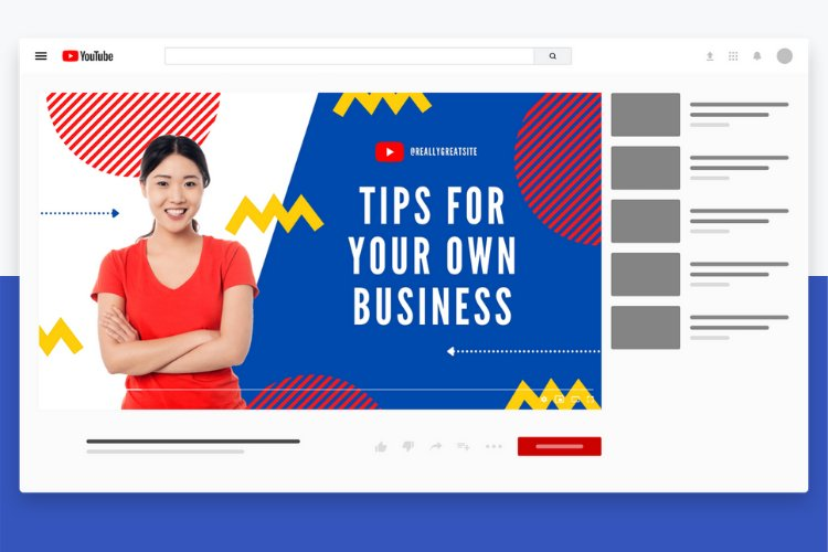 5 Grow Your Business YouTube Thumbnail Canva Templates example 4