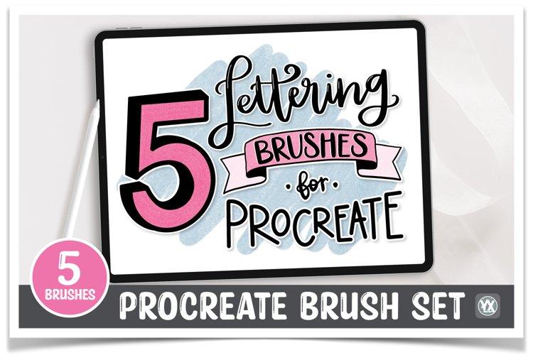 Procreate Brush Kit - Set of 5