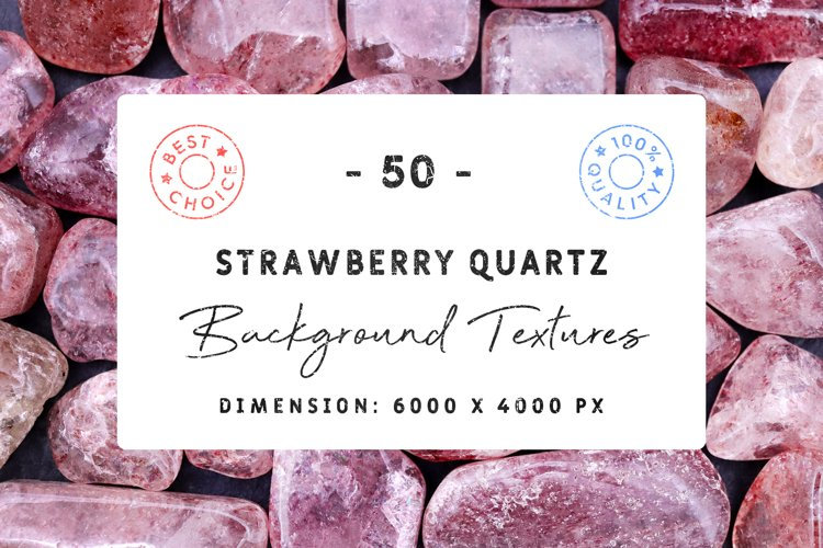 50 Strawberry Quartz Background Textures example image 1