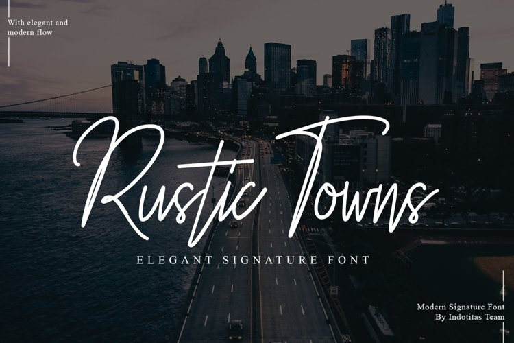 Rustic Towns Signature example image 1