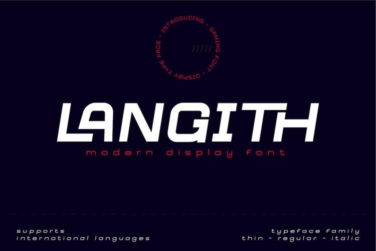 Langith example image 1