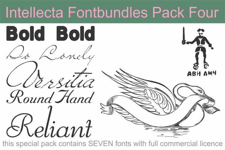 Intellecta Fontbundles Pack Four example image 1