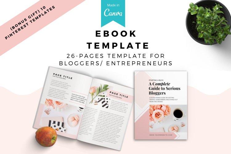Lady Boss Ebook/Lead Magnet Canva Template eBook. example image 1
