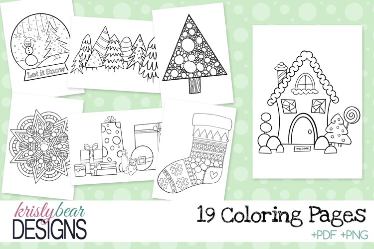 Christmas Coloring Pages-Coloring Sheets example image 1