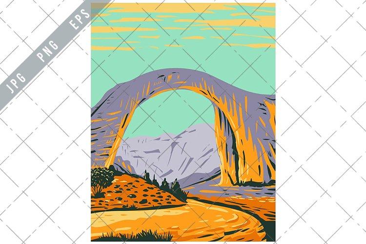 Rainbow Bridge National Monument WPA Poster Art example image 1