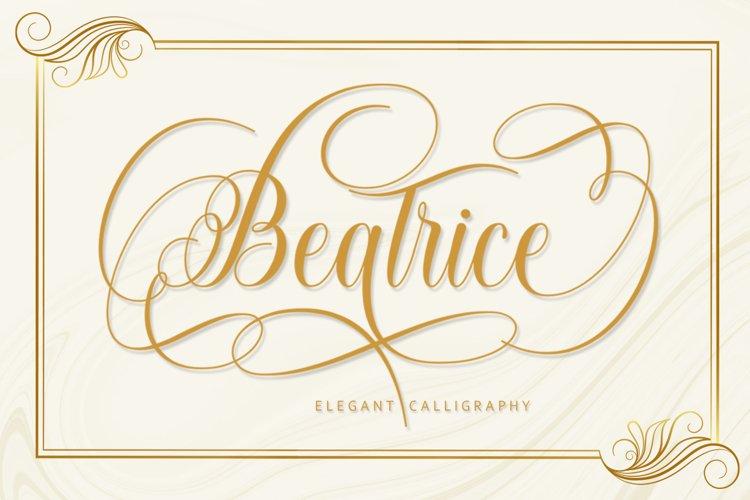 Beatrice Script
