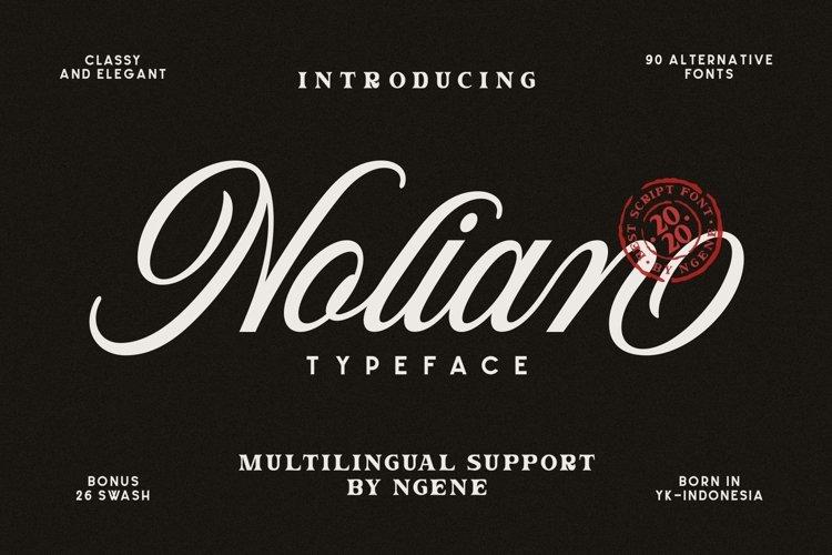 Nolian Script example image 1