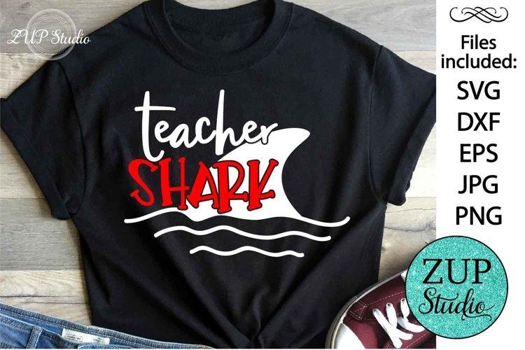 Teacher Shark SVG Digital Design Cutting files 439