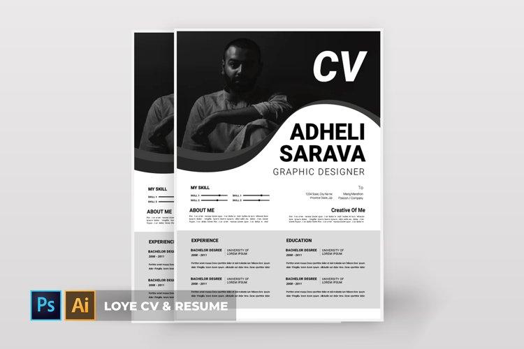 Loye   CV & Resume example image 1