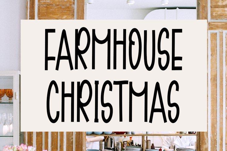 Farmhouse Christmas - Cute Handwritten Font example image 1