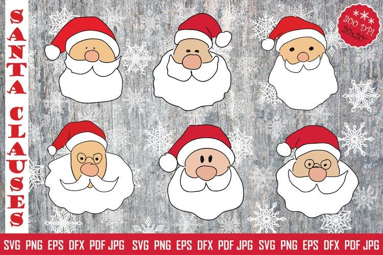 Christmas SVG Santa Claus Pack example image 1