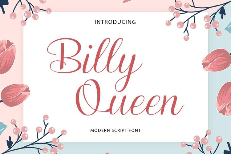 Billy Queen Script