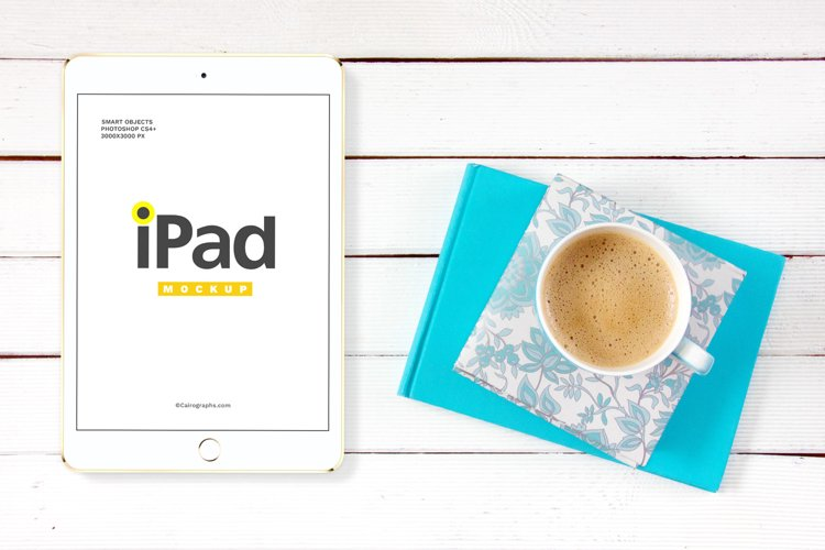 iPads Mockups Vol.2 example 2