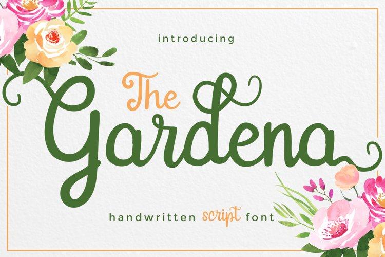 Gardena - Script Font example image 1