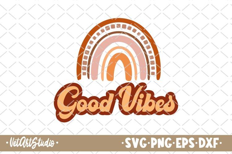 Good vibes svg, Vacation svg, Beach life, Boho rainbow