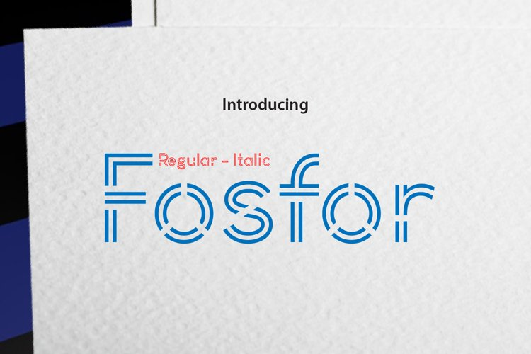 Fosfor Line example image 1