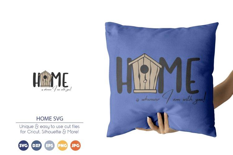 Home SVG | Bird House SVG