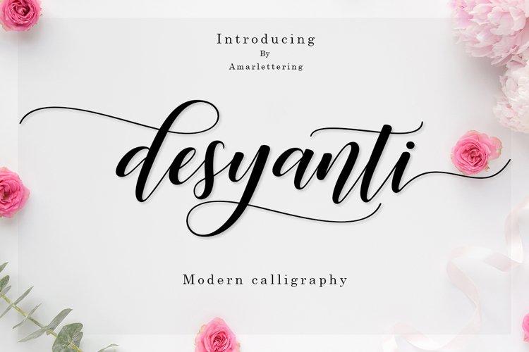 Desyanti Script example image 1