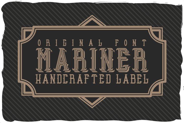 Mariner font example image 1
