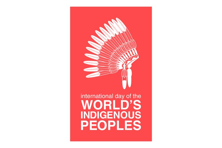 Day of Worlds Indigenous Peoples poster example image 1