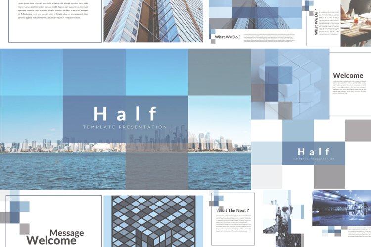 Half Keynote Template example image 1