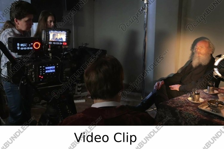 Video: Shooting episode of a film example image 1
