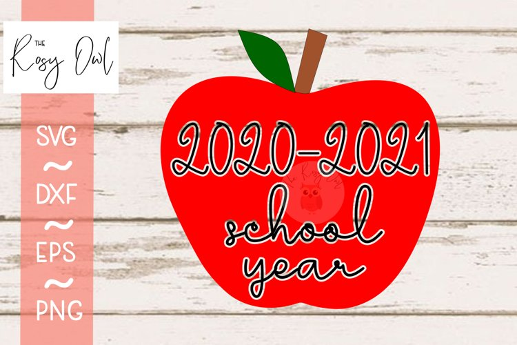 2020-2021 School Year SVG PNG DXF EPS example image 1