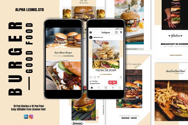 Food Branding Stories & Post example image 1