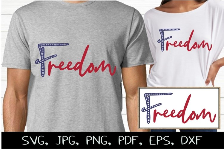 Freedom SVG & July 4th Sublimation Design and Printable