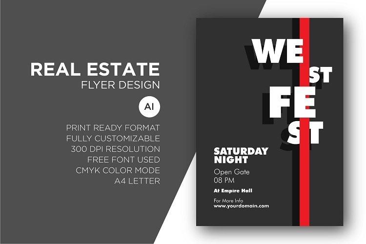 Festival flyer design example image 1