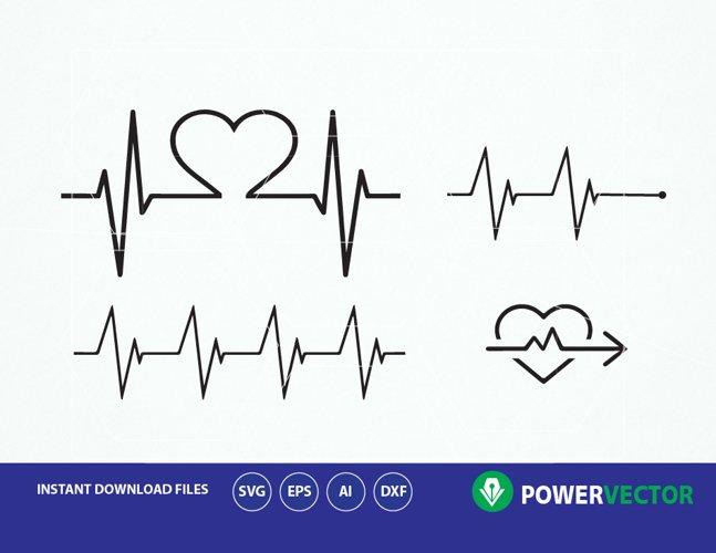 Heartbeat SVG. Heartbeat Dxf. Heartbeat Cricut. Heartbeat Love Svg. Heartbeat Line Svg