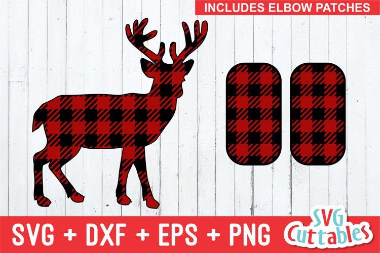 Deer SVG   Buffalo Plaid   Shirt Design