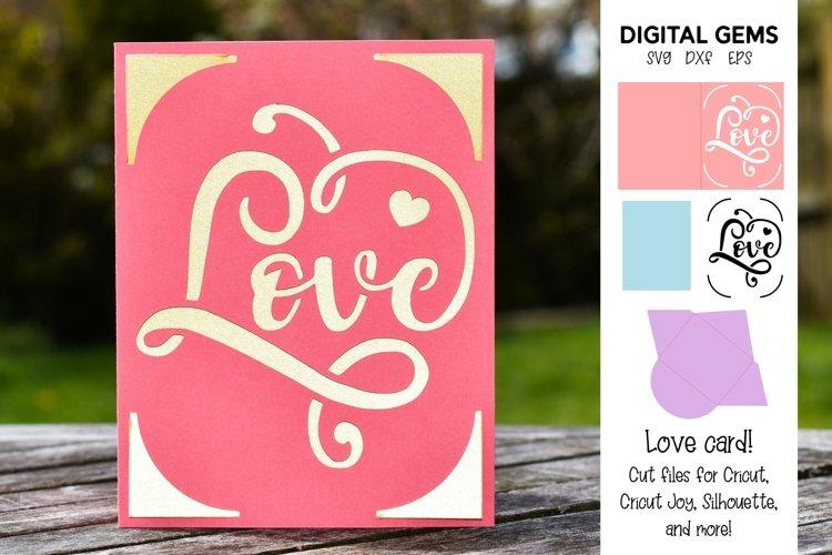 Cricut Joy Card! Love card design!
