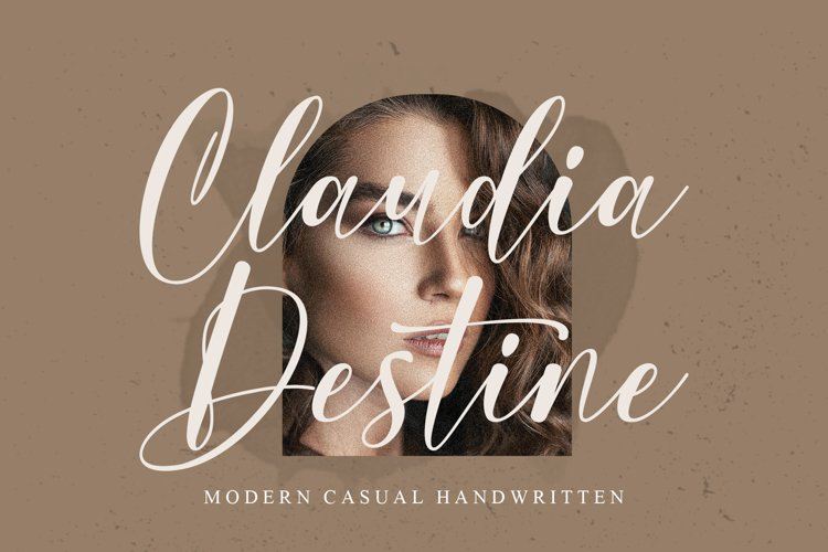 Claudia Destine - Modern Casual Handwritten example image 1