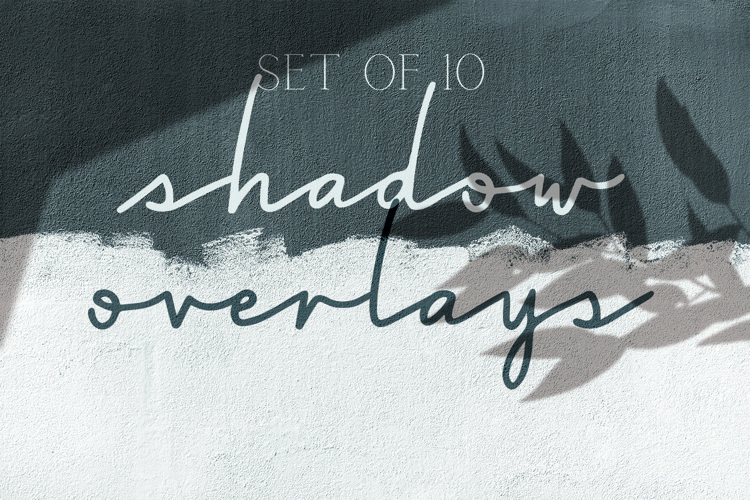 Shadow Overlays - Set of 10