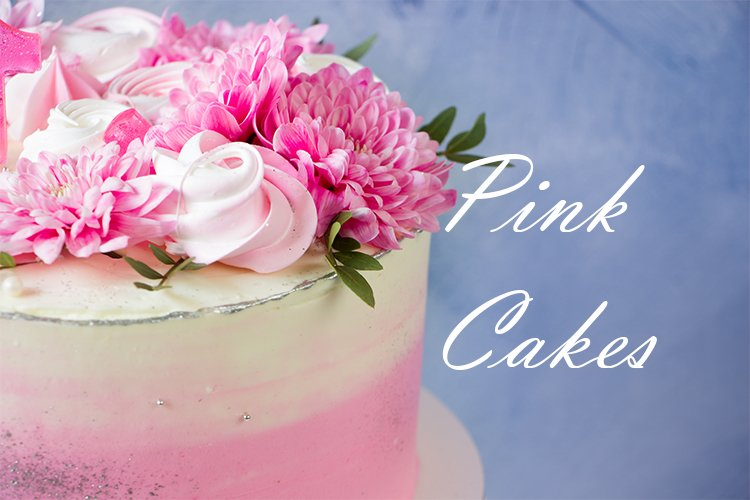 Pink cakes backrounds