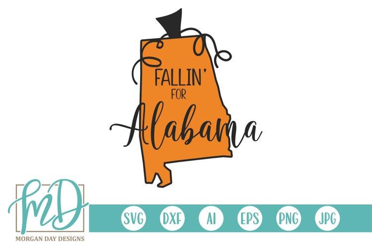 Download Halloween Pumpkin State Fallin For Alabama Svg 332464 Cut Files Design Bundles