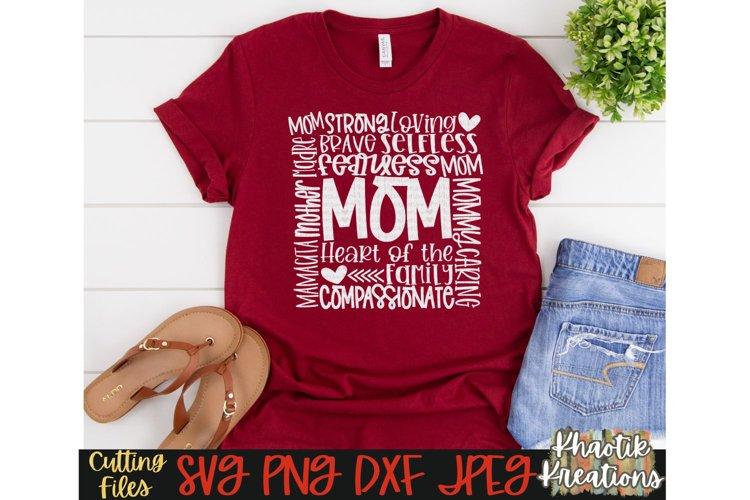 Mom Svg, Mom Typography Svg, Mothers Day Svg, Mom Life Svg